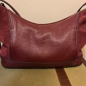 Beautiful leather purse by the Sak